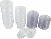 Transparente Jello Shot Cups Marmeladenschälchen