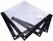 Transparente Plane PVC Balkon Isolationsfolie,