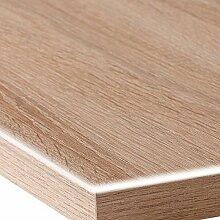 Transparente PVC Folie ca. 1,0 mm dick 100x110 cm · [+ Toleranz] Länge & Breite wählbar - LFGB Lebensmittelecht Transparente abwaschbare Tischdecke