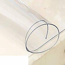 Transparente pvc-tischtuch/wasser/Öl/burn-proof-tischdecke/nicht-waschbar tisch-matten/teetisch matten/tischdecke-A 90x150cm(35x59inch)