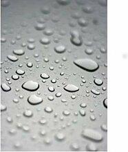Transparente Tischfolie Folie Wachstuch Schutz Tischdecke nach Wunschmaß Abwaschbar Durchsichtig Meterware 450x140 cm - 0,20 mm Stärke