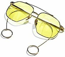Transparente und gelbe Sonne Spiegel Männer und