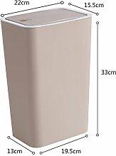 Trash can Mülleimer mit Deckel-Typ Hause