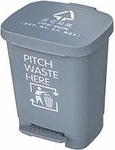Trash can-Q QFF Kunststoff-Mülleimer, 15L / 40L /