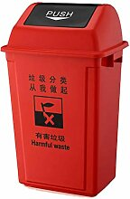 Trash can-Q QFF Kunststoff Mülleimer, Sortieren