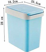 Trash Can Quadratischer Mülleimer Mülleimer mit