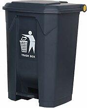 Trash can-YA KJZ Fuß Kunststoff Mülleimer,