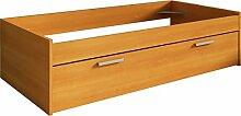 Trasman 1004cerezo Ausziehbett, melaminharzbeschichtete Holzspanplatten, kirsch, 195 x 95 x 50 cm