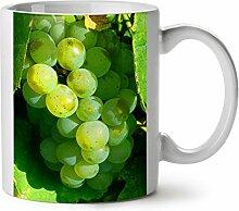 Trauben Wein Foto Essen Sonnig Garten WeißTee KaffeKeramik Becher 11 | Wellcoda