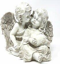 Trauer-Shop Engelpaar Grabschmuck Figur