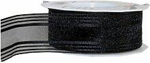 Trauerband Palma schwarz 1 Rolle 40mm x 20m