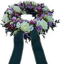 Trauerkranz mit Rosen von Flora Trans