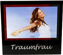 TRAUMFRAU Fotorahmen Bilderrahmen 10x15 Bilder Foto Rahmen Geschenkidee