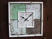 Traumhafte Wanduhr, Uhr, Wonderful Life,
