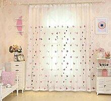Traumhaus Vorhang Kinderzimmer Mädchen