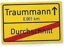 Traummann Ortsschild (30 x 20 cm) - Kunststoff