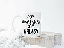 Travel Agent Coffee Mugs Funny Travel Agent Mug