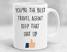Travel Agent Mug, Travel Agent Gift, Travel Agent