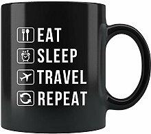Travel Mug, Traveler Gift, Gift For Traveler,