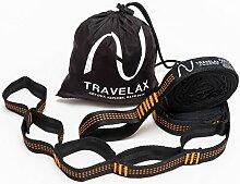 Travelax Befestigung Hängematte mit 11 Schlaufen