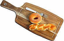 Tray Teller Holz Besteckkasten Pizza Board Home