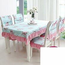 TRE Baumwolle Stoff Spitze Tischdecke/Tischdecke