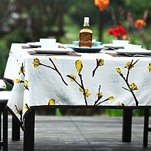 TRE Baumwolle Tischdecke/ zu vermeiden/Einfache und moderne Tischdecke-A 140x200cm(55x79inch)