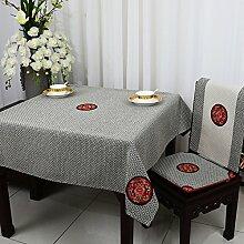 TRE Bukolische Tabelle Tuchgewebe/ Garten Tischdecke Stoffe aus Baumwolle/Tischdecke decke/Schreibtisch-H 150x220cm(59x87inch)