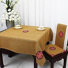 TRE Bukolische Tabelle Tuchgewebe/ Garten Tischdecke Stoffe aus Baumwolle/Tischdecke decke/Schreibtisch-F 130x130cm(51x51inch)