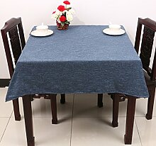 TRE Couchtisch rechteckig Tischdecke/ Garten Tischdecke Stoffe aus Baumwolle/Tischdecke decke/Schreibtisch-G 150x150cm(59x59inch)