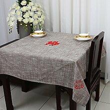 TRE Couchtisch rechteckig Tischdecke/ Garten Tischdecke Stoffe aus Baumwolle/Tischdecke decke/Schreibtisch-I 120x160cm(47x63inch)