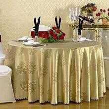 TRE Dicke chinesische Tischdecke/Hotel Speisesaal