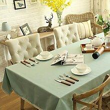 TRE Einfache Baumwolle Tischdecke Stoff