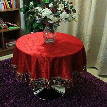 TRE Einfache festliche Rosen Tischdecke/Tischdecke