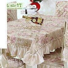 TRE Einfachen und modernen Garten Tischdecke/Tischdecke decke/Tischdecke decke/Abdeckung Tuch-B 150x150cm(59x59inch)