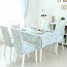TRE Einfarbigen Stoff Tischdecke/