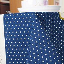 TRE Europäische Baumwolle und Leinen Tabelle Tuchgewebe/Tischdecke decke/Tischdecken/TV Tisch/Computer Schreibtisch Tisch-Tuch-C 140x220cm(55x87inch)