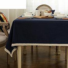 TRE Europäische Baumwolltuch/ Garten Tischdecke/Tischdecken/ Coffee Table Tischdecke/Abdeckung Tuch-A 140x140cm(55x55inch)