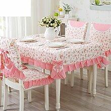 TRE Europäische Garten frische Tischwäsche-Stoff/Tischdecke decke/Tischdecke decke/Abdeckung Tuch-F 130x180cm(51x71inch)