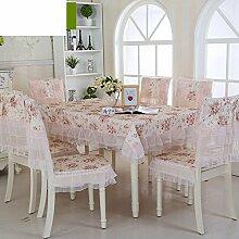 TRE Europäische Garten frische Tischwäsche-Stoff/Tischdecke decke/Tischdecke decke/Abdeckung Tuch-P 90x160cm(35x63inch)