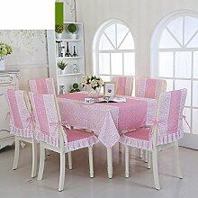 TRE Europäische Garten frische Tischwäsche-Stoff/Tischdecke decke/Tischdecke decke/Abdeckung Tuch-J 110x160cm(43x63inch)