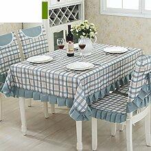 TRE Europäische Garten frische Tischwäsche-Stoff/Tischdecke decke/Tischdecke decke/Abdeckung Tuch-N 130x180cm(51x71inch)