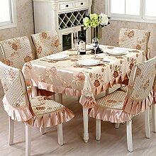 TRE Europäische Stoff Tischdecke/ quadratisches