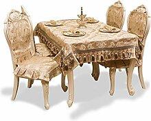 TRE Europäische Stoff Tischdecke/
