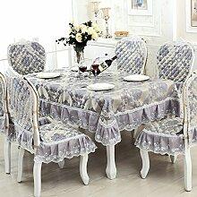 TRE European-Style Tisch Tuchgewebe/ längliche Tischdecke/Square Tischdecke Stoff/Tischdecke decke-A 110x160cm(43x63inch)