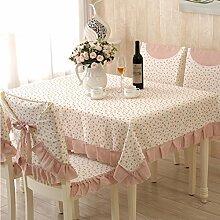 TRE European-Style Tisch Tuchgewebe/Pastorale Spitze Tischdecke/Abdeckung Tuch-Q 110x160cm(43x63inch)