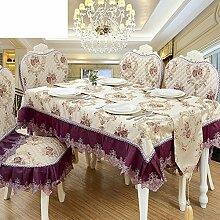 TRE European-Style Tisch Tuchgewebe/Rundtischdecken/Tischdecke decke/Tischdecke decke/Tabelle Tuch-A 80x80cm(31x31inch)