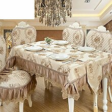 TRE European-Style Tisch Tuchgewebe/Rundtischdecken/Tischdecke decke/Tischdecke decke/Tabelle Tuch-C 130x180cm(51x71inch)