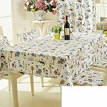 TRE Garten frische Baumwolle Tabelle Tuchgewebe/ Kaffee Tisch rund Tischdecken Karte Tisch/Abdeckung Tuch-F 90x90cm(35x35inch)