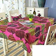 TRE Garten frische Baumwolle Tabelle Tuchgewebe/ Kaffee Tisch rund Tischdecken Karte Tisch/Abdeckung Tuch-E 60x60cm(24x24inch)
